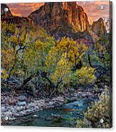 Zion National Park Acrylic Print by Utah Images