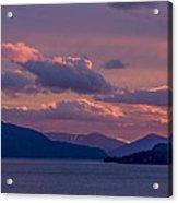 121205a-154 A Sunnyside Sunrise Acrylic Print