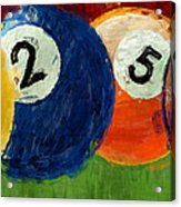 1258 Billiards Acrylic Print
