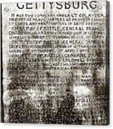 12th Ny Regiment Acrylic Print