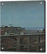12th Street Bridge  Kansas City Missouri Acrylic Print