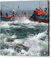 Almadraba Tuna Fishing Acrylic Print