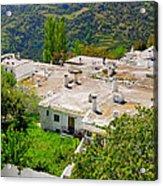Alpujarras In Granada Acrylic Print