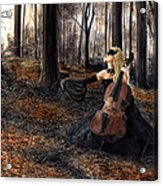 13 Autumns And A Widow Acrylic Print
