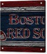 Boston Red Sox Acrylic Print