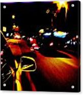 Divine Lights Acrylic Print