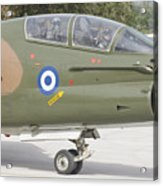 Hellenic Air Force Ta-7 Corsair II Acrylic Print