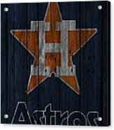 Houston Astros Acrylic Print