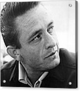 Johnny Cash Acrylic Print
