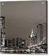 Manhattan Downtown Acrylic Print