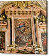 Mezquita Cathedral Interior In Cordoba Acrylic Print