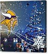 Minnesota Vikings Acrylic Print