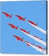Red Arrows Acrylic Print