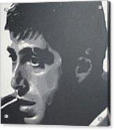 Scarface Acrylic Print by Luis Ludzska