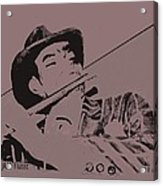 The Jazz Flutist Acrylic Print