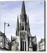 View Of Episcopal Cathedral In Edinburgh Acrylic Print