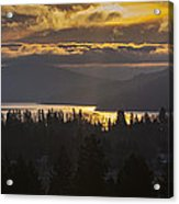 131127a-18 Sandpoint Winter Sunrise Acrylic Print