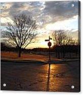 1313 Sunset Acrylic Print