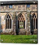 13th Century Abbey Acrylic Print