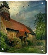 13th Century Church  Acrylic Print