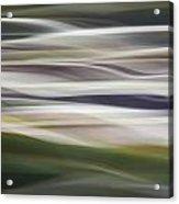Blurscape Acrylic Print