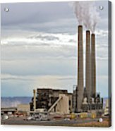 Coal-fired Power Station Acrylic Print