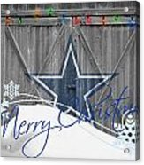 Dallas Cowboys Acrylic Print