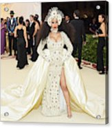 Heavenly Bodies: Fashion & The Catholic Imagination Costume Institute Gala - Arrivals Acrylic Print