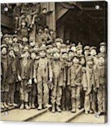 Hine Child Labor, 1911 Acrylic Print