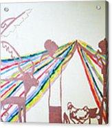 Kintu And Nambi Acrylic Print