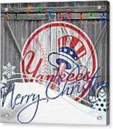 New York Yankees Acrylic Print