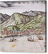Ortelius, Abraham 1527-1598 Braun Acrylic Print