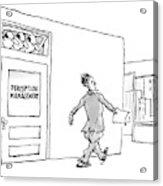 New Yorker April 24th, 2006 Acrylic Print