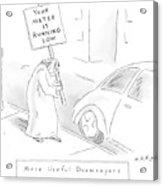 New Yorker February 11th, 2008 Acrylic Print