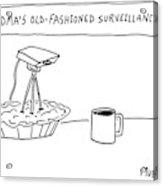 New Yorker December 17th, 2007 Acrylic Print