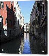 Narrow Canal Venice Italy Acrylic Print