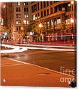 1400 New York Downtown Dc Acrylic Print