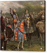 1400s Henry V Of England Speaking Acrylic Print