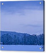 140303a-43 The Bull River Valley In Winter Acrylic Print