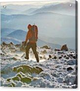 A Summit Intern Hikes The Northwest Acrylic Print