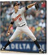 Baltimore Orioles V. New York Yankees 15 Acrylic Print