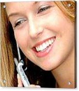 Businesswoman. Acrylic Print