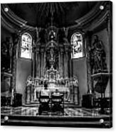 Church Of Saint Agnes Acrylic Print