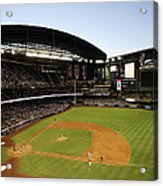 Colorado Rockies V Arizona Diamondbacks Acrylic Print