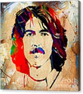 George Harrison Collection Acrylic Print