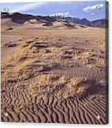 Great Sand Dunes Acrylic Print