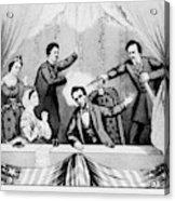 Lincoln Assassination Acrylic Print
