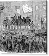 Presidential Campaign, 1864 Acrylic Print