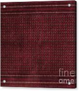 Turkish Carpet Acrylic Print