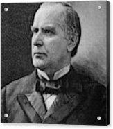 William Mckinley (1843-1901) Acrylic Print
